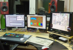 Broadcast Video Editing Place © Nageldinger Film