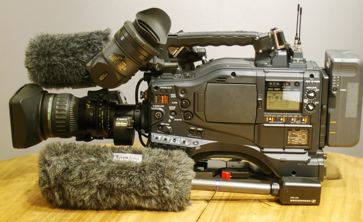 PANASONIC AJ-HPX3000G, High-End HD TV-Camera © Nageldinger Film