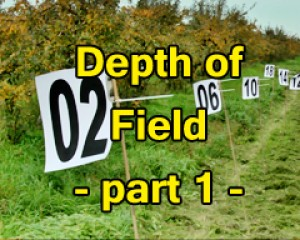 #02 DOF Depth of field, part 1